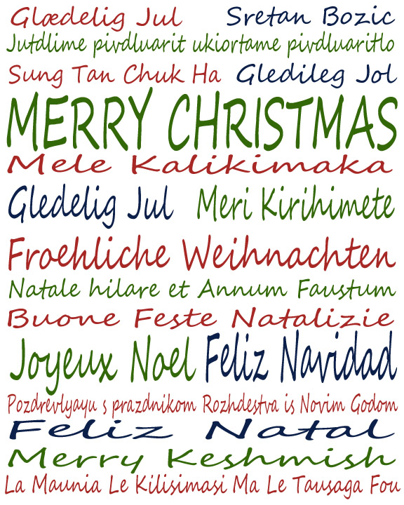 Merry Christmas Languages Migrant Tales - List of languages around the world