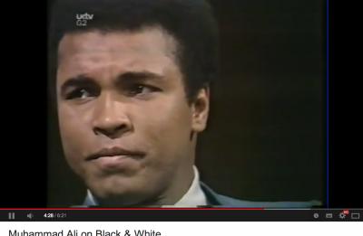 Defining white privilege #9: Mohammad Ali's insight