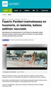 The Council of Ethics in Advertising of Finland finds nothing wrong with Fazer's 'gigolo'