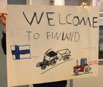 What Finnish school children from a small town think about racism?