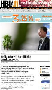 Jussi Halla-aho's broken record: destroy cultural and ethnic diversity