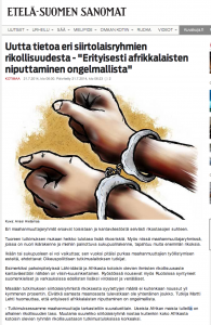 How the Finnish media continues to be part of the problem by reinforcing stereotypes and racist perceptions of migrants and minorities