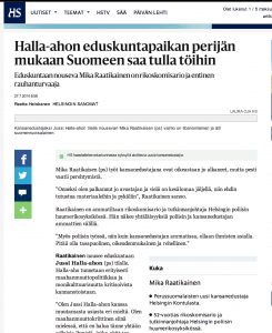 How the Finnish media gives anti-immigration parties like the PS space, inflated respectability and importance