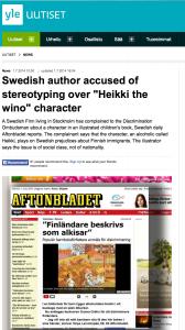 Migrant Tales (July 3, 2014): Is 'Heikki the drunk' Finnish or Swedish?
