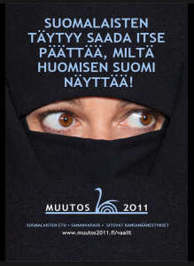 Muutos 2011 election campaign exposes the contempt and hatred some Finns have for migrants and minorities