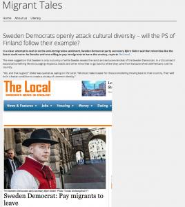 Defining Swedish white privilege #1: Case Björn Söder